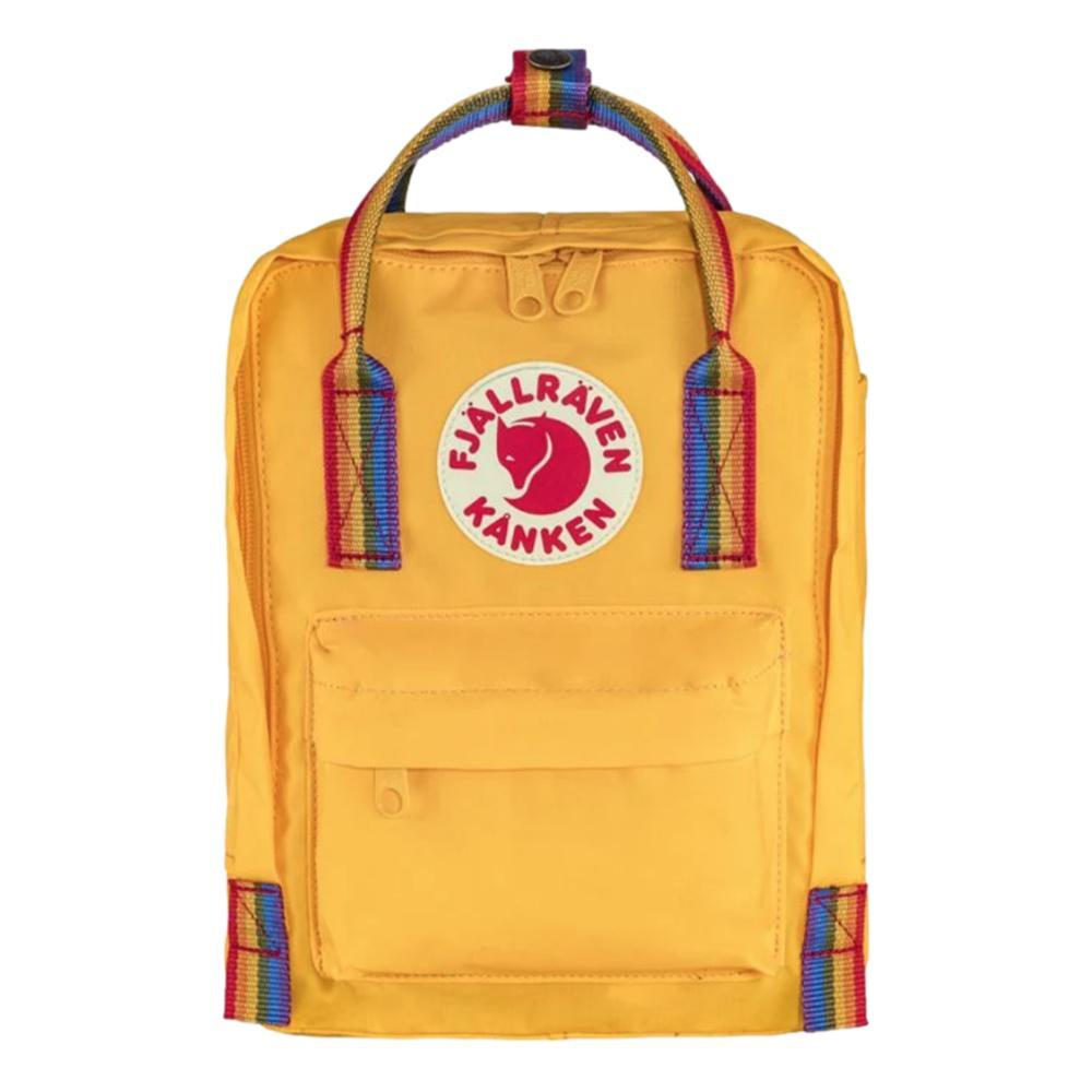 Fjallraven Kanken Rainbow Mini Backpack YEL_141907