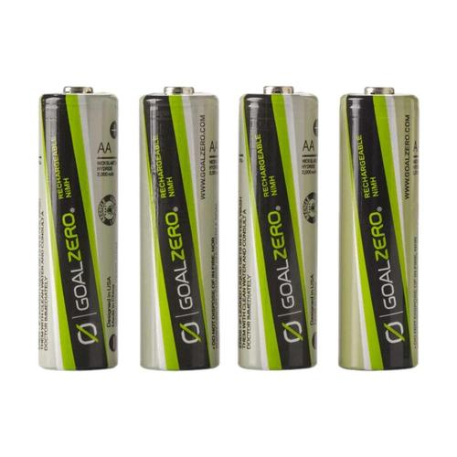 Goal Zero AA Rechargeable Batteries 4-Pack