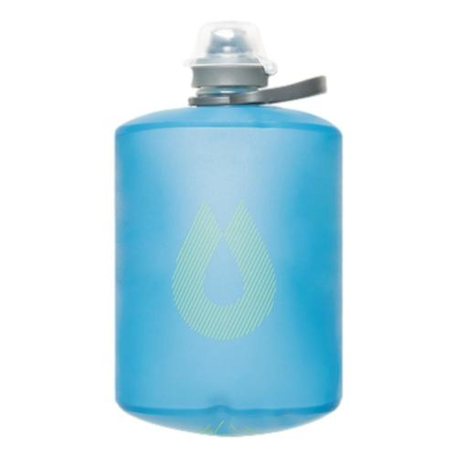 HydraPak Stow Bottle 500mL Collapsible Water Bottle Tahoe_blue