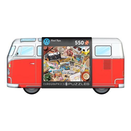 EuroGraphics VW  Road Trips Tin 550 Piece Jigsaw Puzzle