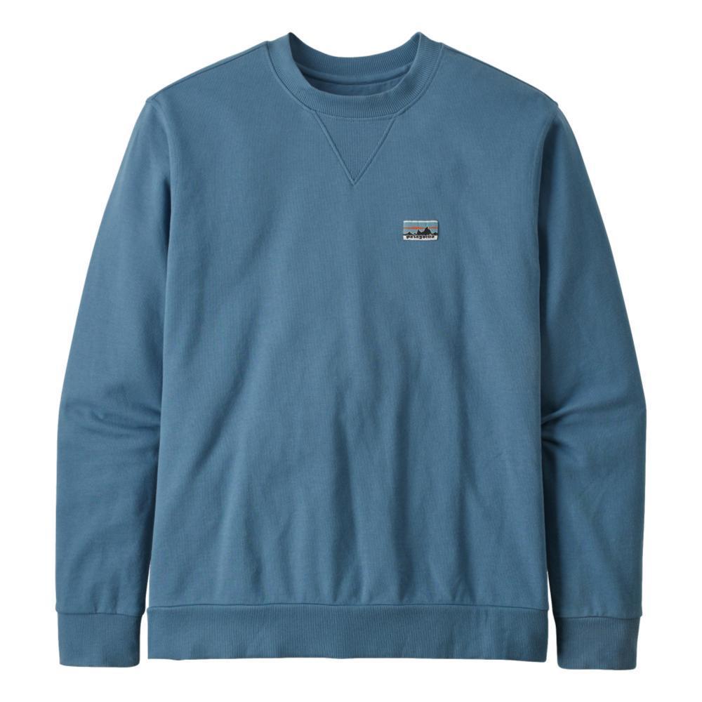 Patagonia Men's Regenerative Organic Cotton Crewneck Sweatshirt BLUE_PGBE