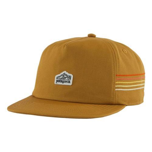 Patagonia Men's Line Logo Ridge Stripe Funfarer Cap Brown_oksb