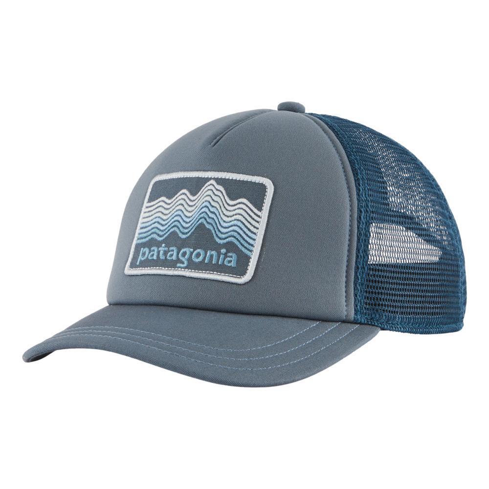 Patagonia Women's Ridge Rise Stripe Interstate Hat PGREY_PLGY