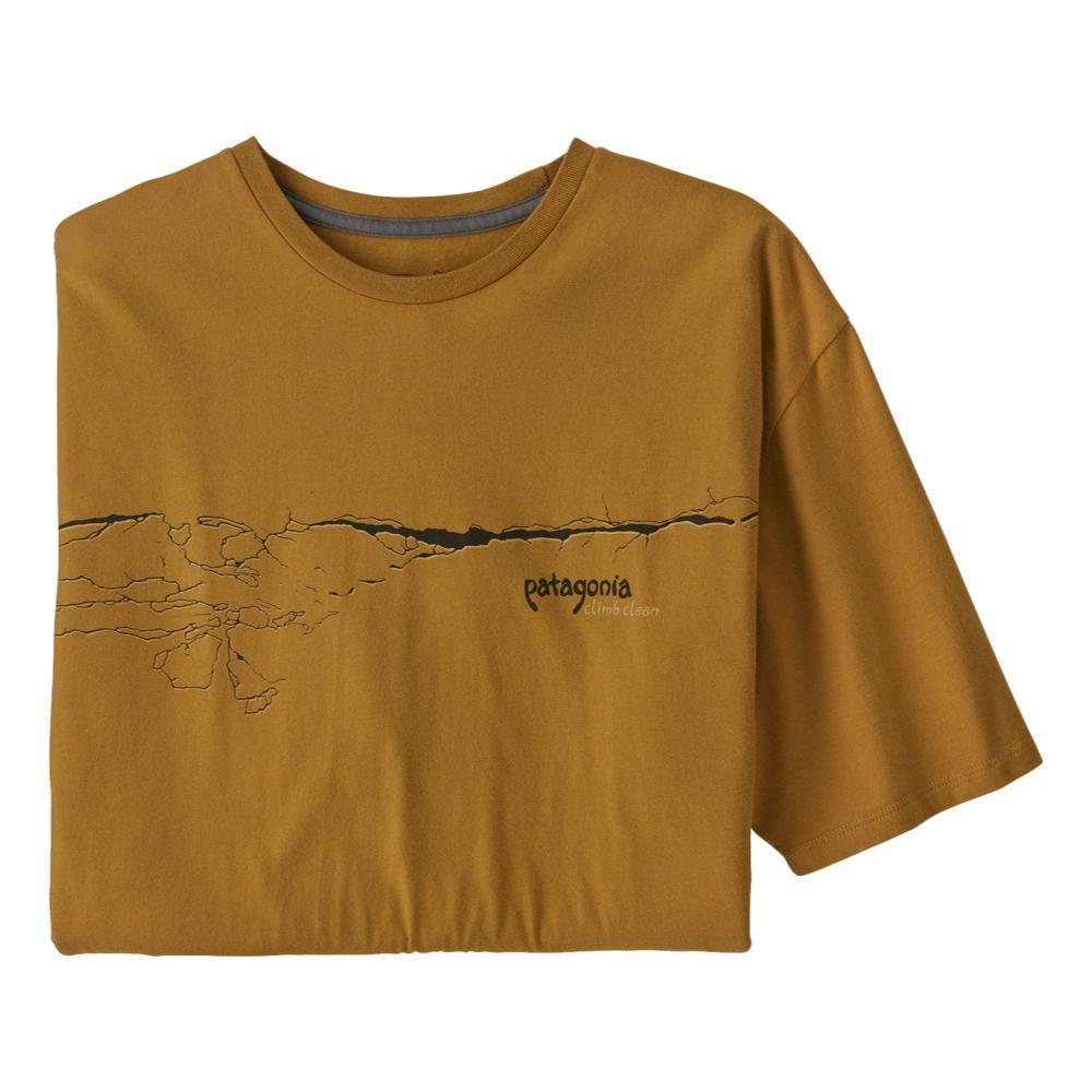 Patagonia Men's Cochamó Crack Organic T-Shirt BROWN_OKSB