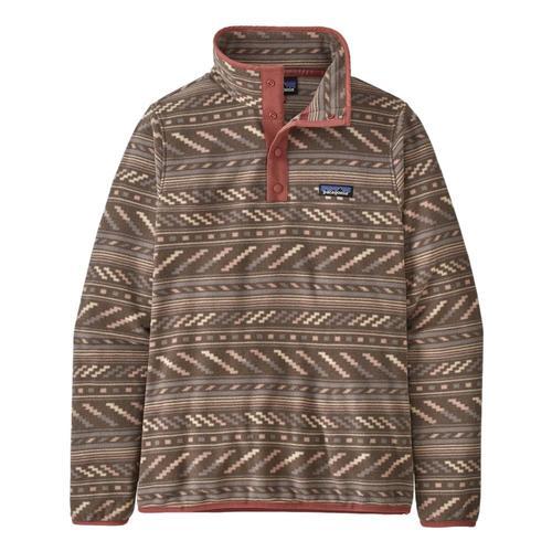 Patagonia Women's Micro D Snap-T Fleece Pullover Taupe_bbta