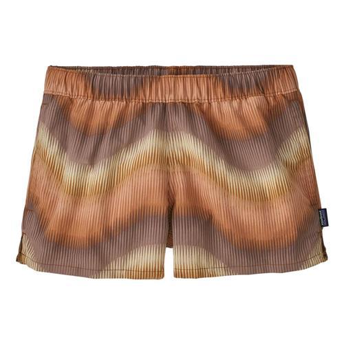 Patagonia Women's Barely Baggies Shorts - 2 1/2in inseam Brown_ashb