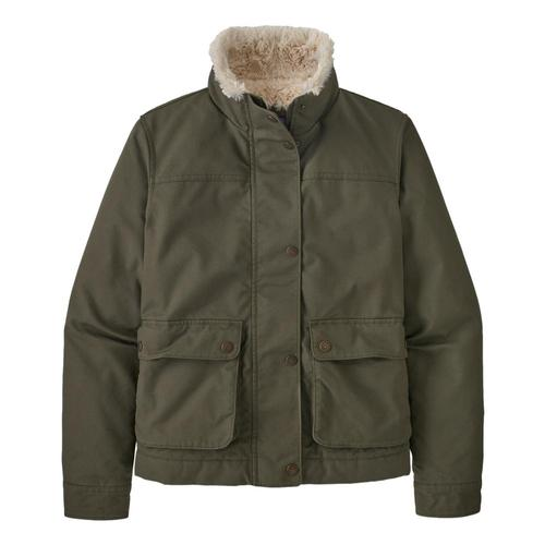 Patagonia Women's Maple Grove Jacket Green_bsng