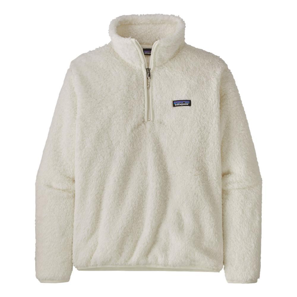 Patagonia Women's Los Gatos 1/4 Zip Fleece Pullover WHITE_BCW