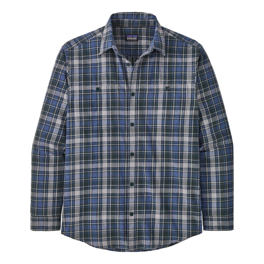 Patagonia Men's Long-Sleeved Organic Pima Cotton Shirt GREEN_CAGN