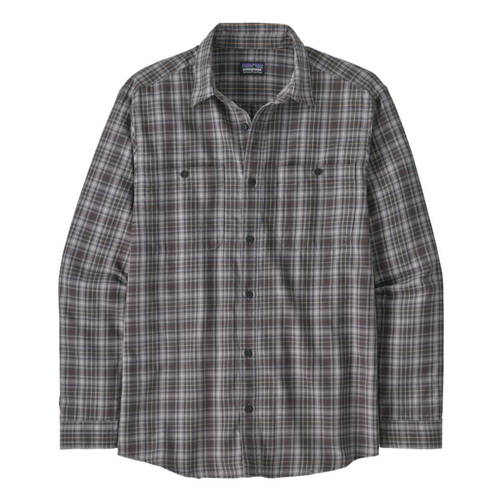 Patagonia Men's Long-Sleeved Organic Pima Cotton Shirt GREY_FFOG