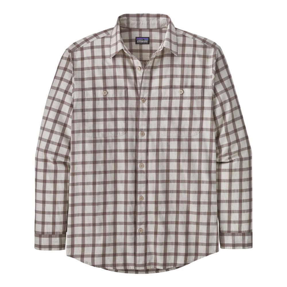 Patagonia Men's Long-Sleeved Organic Pima Cotton Shirt PUMICE_LPPU