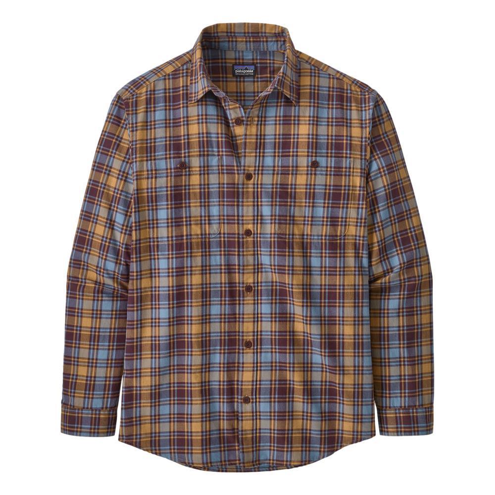 Patagonia Men's Long-Sleeved Organic Pima Cotton Shirt RUBY_CADR