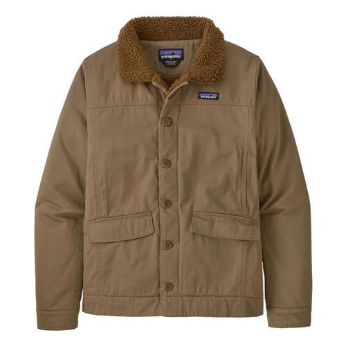 Patagonia Men's Maple Grove Deck Jacket Khaki_mjvk
