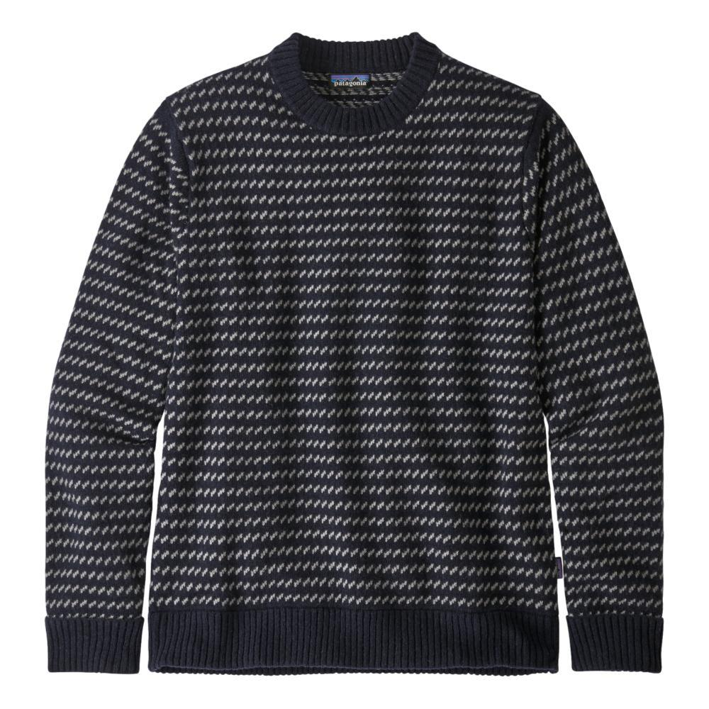 Patagonia Men's Recycled Wool Sweater NAVY_CNY