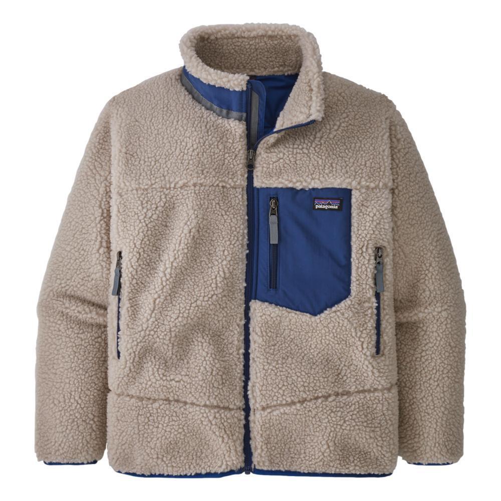 Patagonia Kids Retro-X Fleece Jacket SUPBLU_NABL