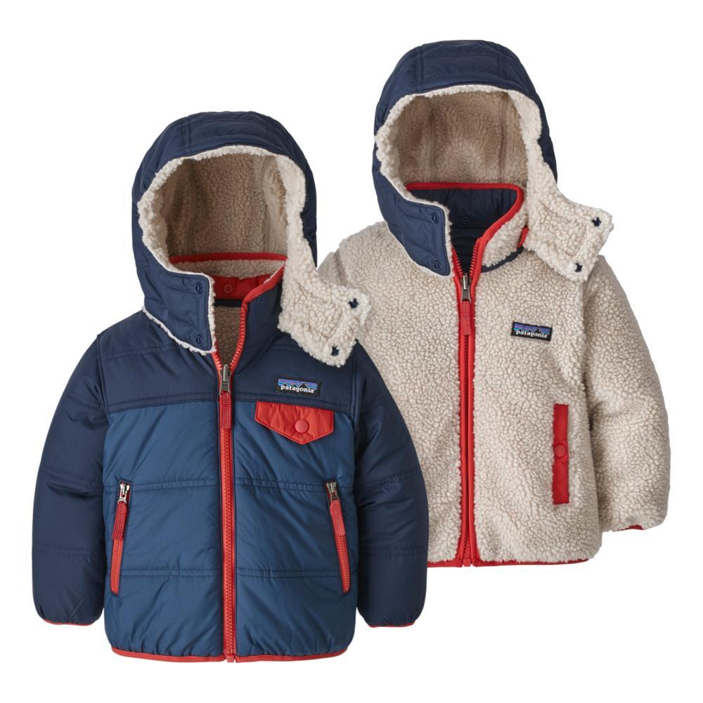 Patagonia Baby Reversible Tribbles Hoody STNBLUE_SNBL