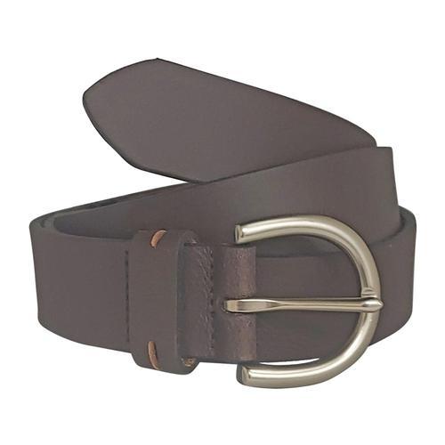 Bison Designs Women's 32mm Aspen Leather Belt Brown
