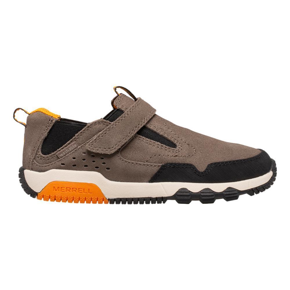 Merrell Big Kid's Free Roam Jungle Moc Shoes  GUNSMOKE