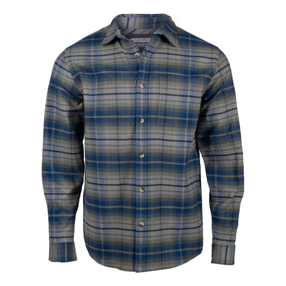 Mountain Khakis Men's Hideout Flannel Shirt TWILIGHT_676