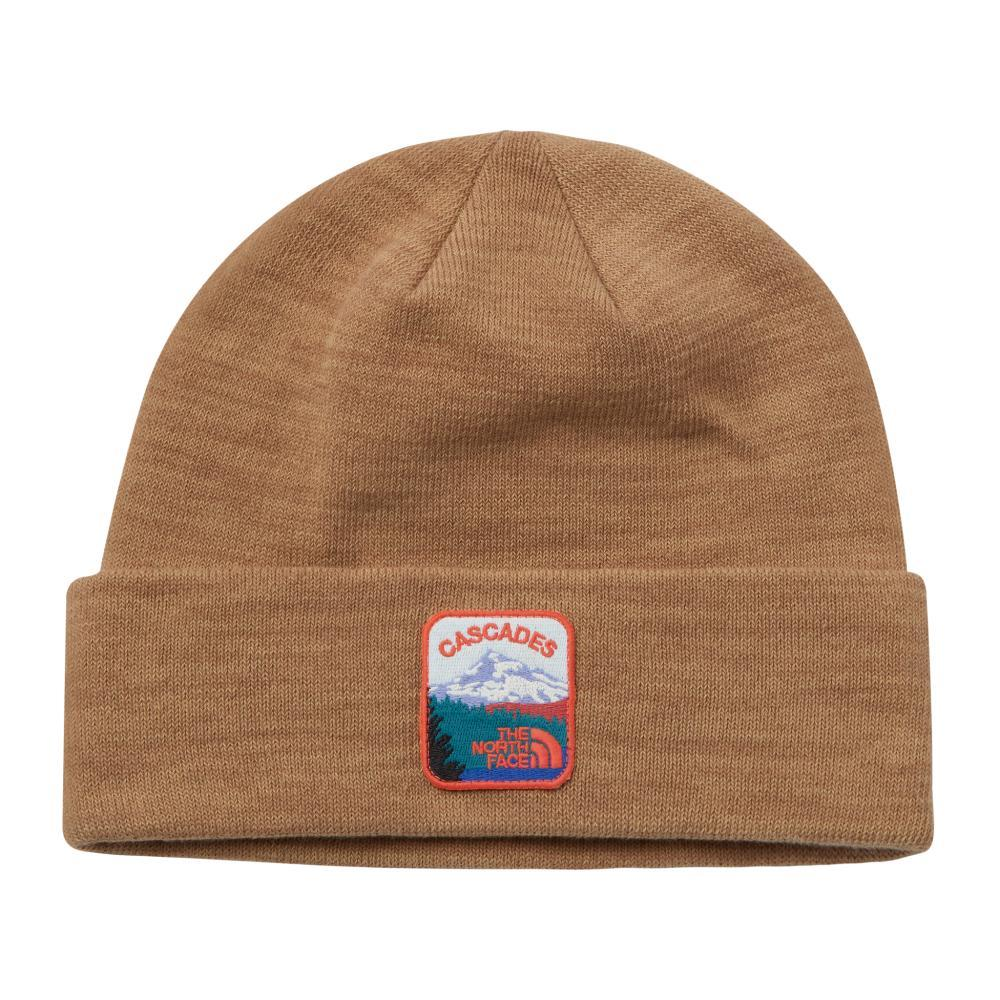 The North Face  Embroidered Earthscape Beanie UBROWN_T27