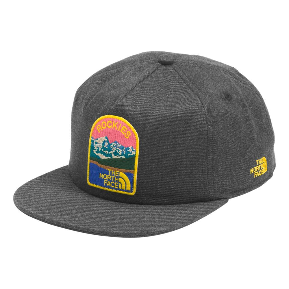 The North Face Embroidered Earthscape Ball Cap DKGREY_DYZ