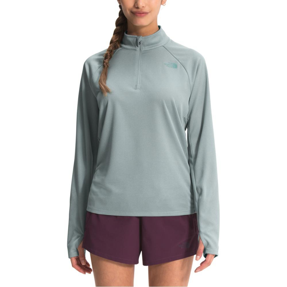 The North Face Women's Wander 1/4 Zip Pullover SILVER_0LL