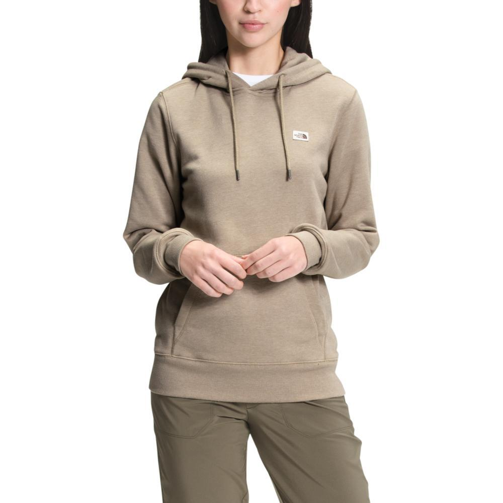 The North Face Women's Heritage Patch Pullover Hoodie FLAXHT_148