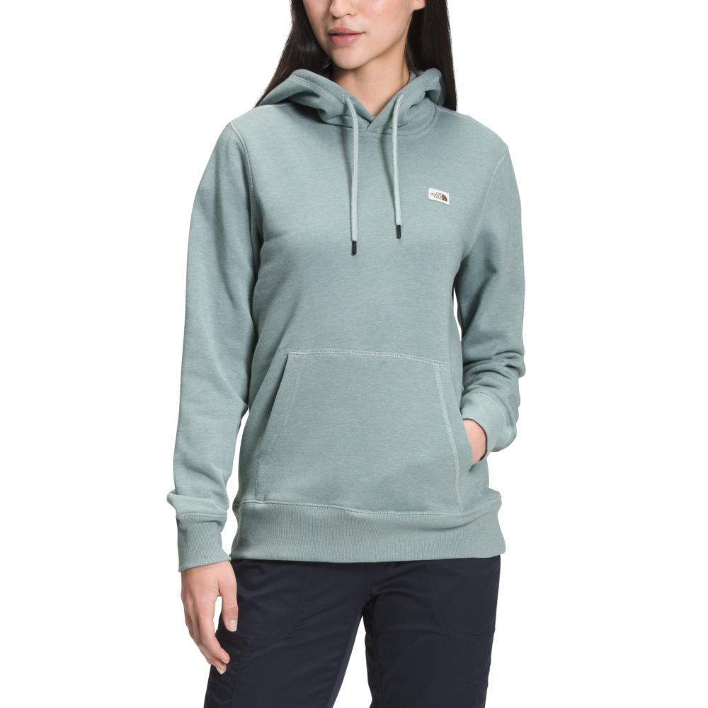 The North Face Women's Heritage Patch Pullover Hoodie SILVER_0LL
