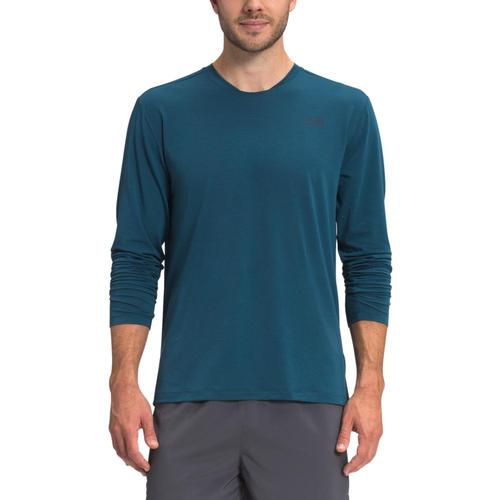 The North Face Men's Wander Long Sleeve Shirt Blue_q4v