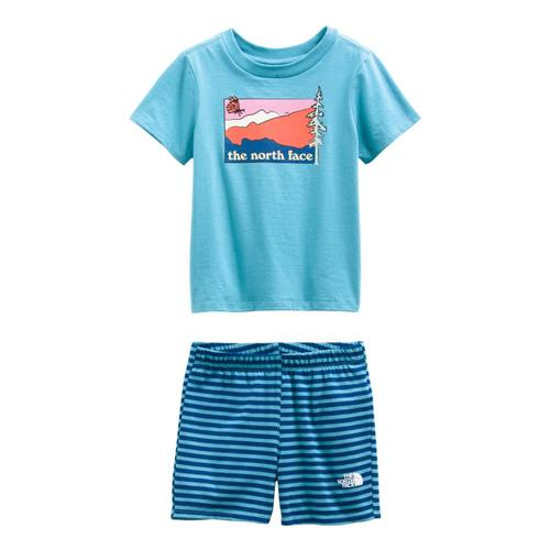 The North Face Toddler Cotton Summer Set Blustr_0mp