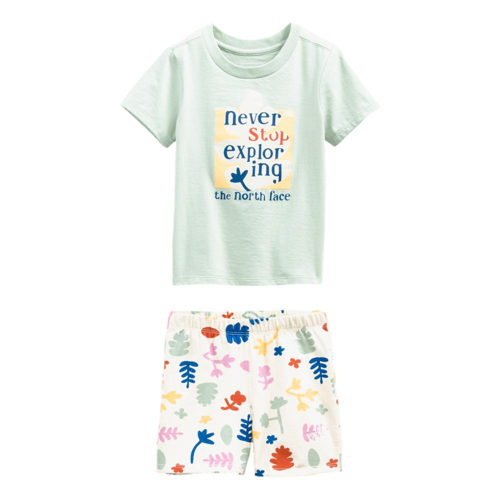 The North Face Toddler Cotton Summer Set WHTFLR_0PY