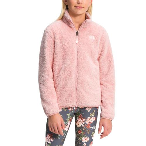 The North Face Girls Suave Oso Fleece Jacket Pchpink_0kt