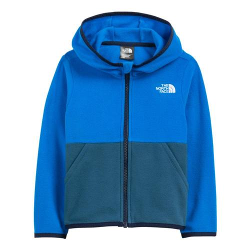 The North Face Toddler Glacier Full-Zip Hoodie Hroblu_t4s