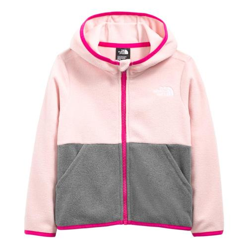 The North Face Toddler Glacier Full-Zip Hoodie Pchpink_0kt