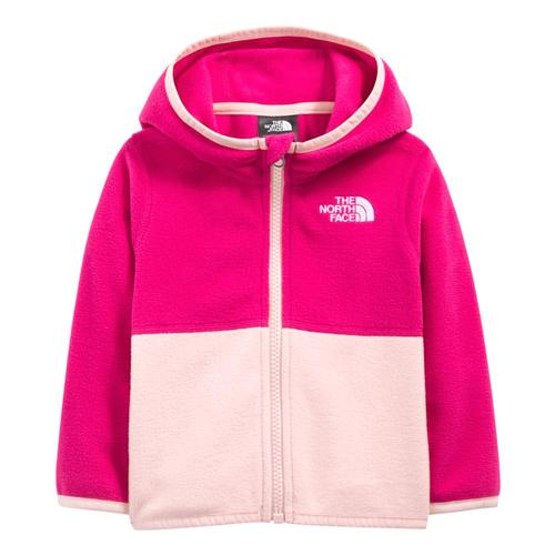 The North Face Infant Glacier Full Zip Hoodie Cabpink_hbu
