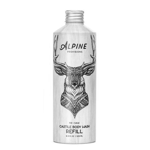 Alpine Provisions Fir + Sage Castile Body Wash