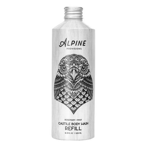 Alpine Provisions Rosemary + Mint Castile Body Wash