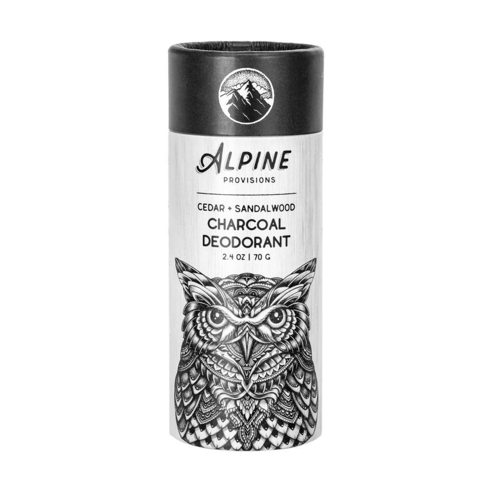 Alpine Provisions Cedar Charcoal Deodorant