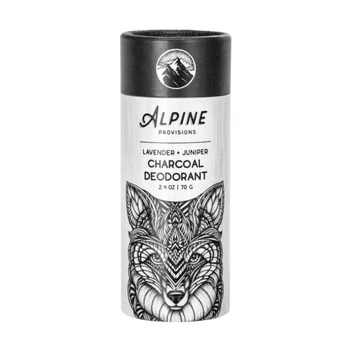 Alpine Provisions Lavender + Juniper Charcoal Deodorant