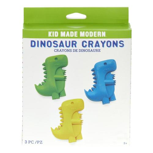 Kid Made Modern Dinosaur Crayons