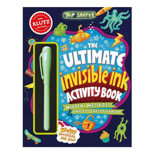Klutz: Top Secret: The Ultimate Invisibile Ink Activity Book