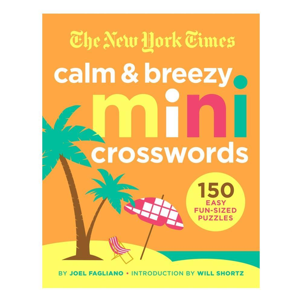 The New York Times Calm And Breezy Mini Crosswords By Joel Fagliano