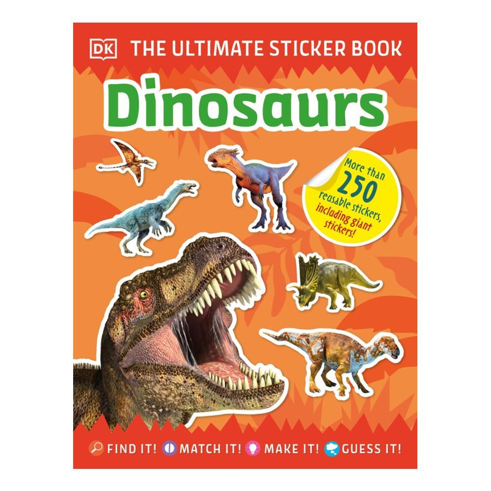 The Ultimate Sticker Book Dinosaurs By Dk