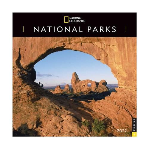 National Geographic: National Parks 2022 Wall Calendar 2022