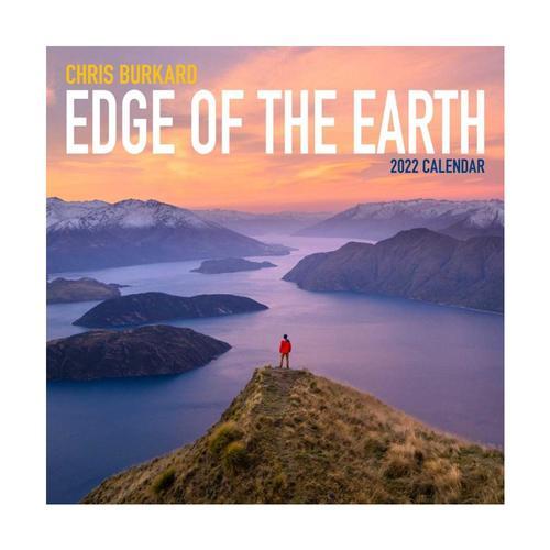 Chris Burkard Edge of the Earth 2022 Wall Calendar 2022
