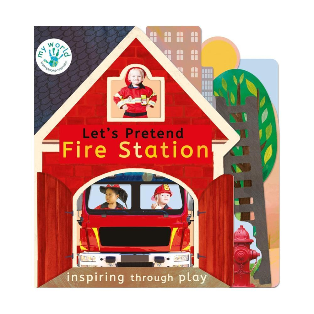 Let's Pretend Fire Station By Nicola Edwards