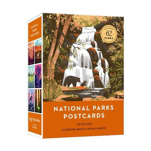 National Parks Postcards by Fifty-Nine Parks