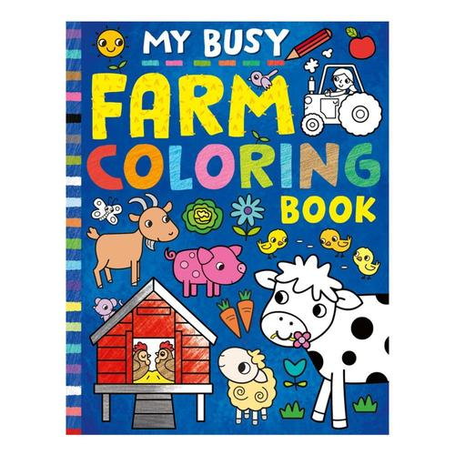 My Busy Farm Coloring Book by Tiger Tales