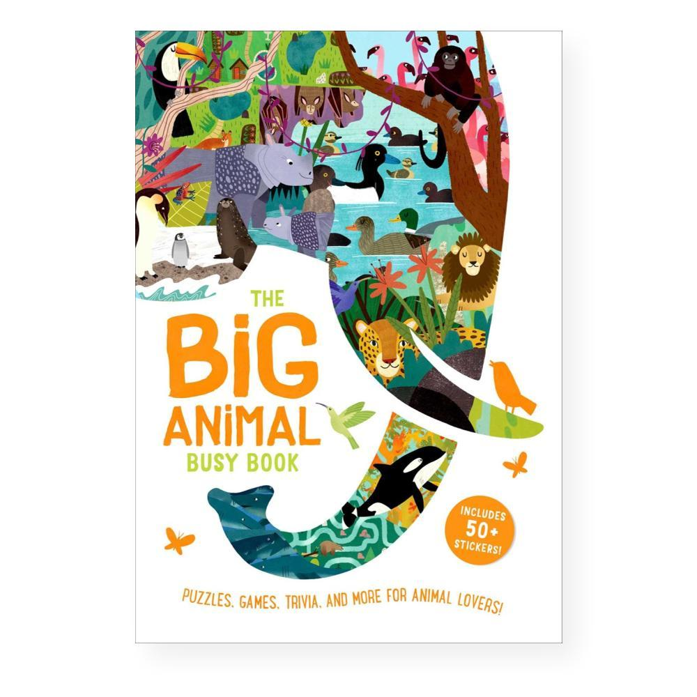Big Animal Busy Book By Frances Evans