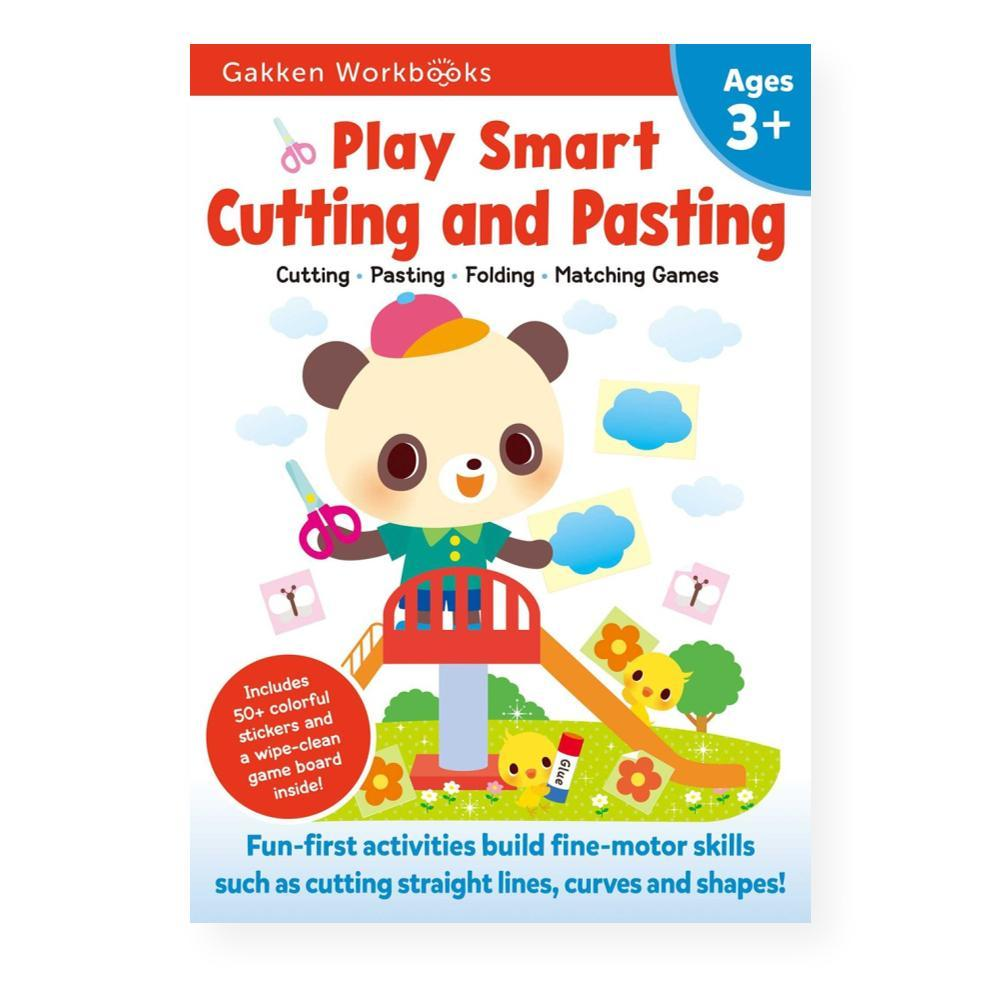 Play Smart Cutting And Pasting Age 3 + By Gakken Early Childhood Experts